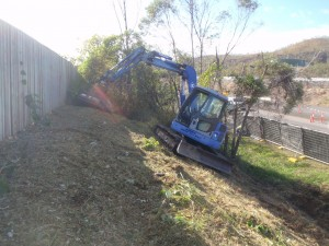 8 tonne Komatsu Excavator